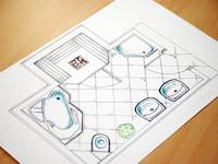 Badplaner planen sie ihr bad online for Programma per disegnare mobili