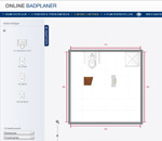 2d online badplaner kostenlos | zweidimensionale badplanung - Badezimmerplaner Online Kostenlos