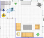 2d online wohnraumplaner zweidimensionale wohnraumplanung. Black Bedroom Furniture Sets. Home Design Ideas